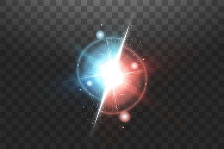 Vs sign. Vector versus background with glowing light Vektoros illusztráció