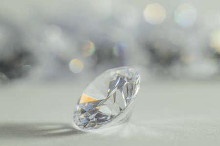 diamond shaped: precious stones