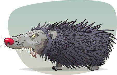 Pure evil hedgehog