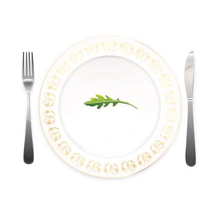 low cal: Diet plate
