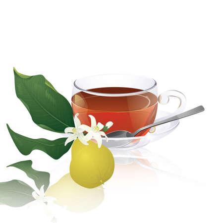 Earl Grey tea (with bergamot)