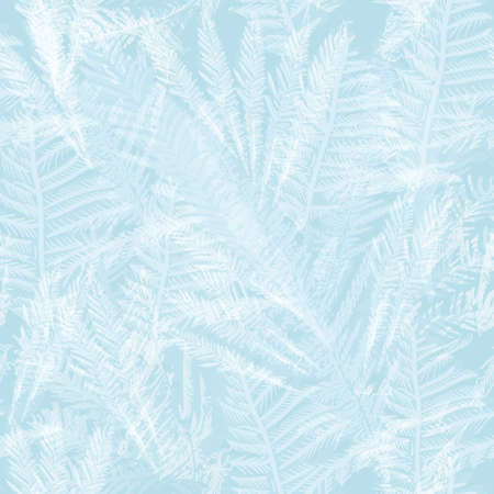 rime frost: Frozen glass seamless background