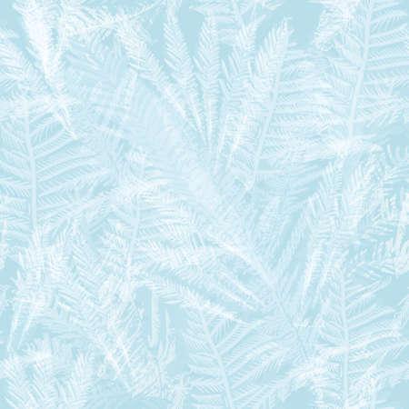 hoar frost: Frozen glass seamless background