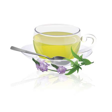 Verbena herbal tea