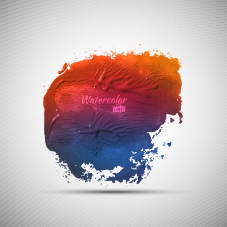 gouache: Watercolor grunge background for your design Illustration