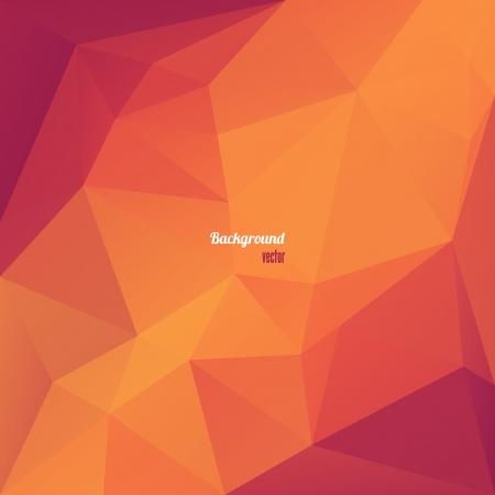 Triangle abstraite Fond Géométrique Illustration