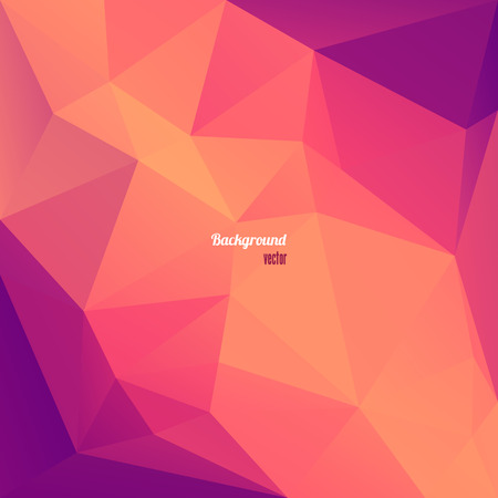 mellow: Abstract Triangle Geometrical  Background Illustration