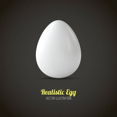 ailment: Realistic Egg Illustration Illustration
