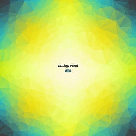 Abstract Triangle Geometrical  Background Ilustração