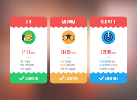 pricing: Subscription, pricing plan template.