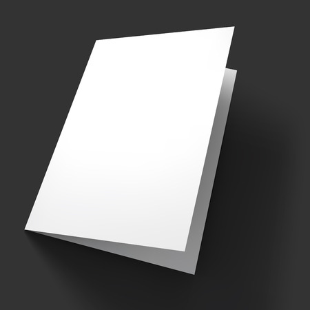 blank signs: Magazine, booklet, postcard, flyer, business card or brochure mockup template.