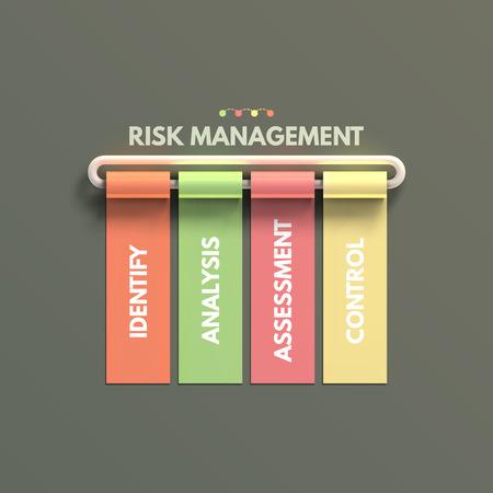 bannière business: Banni�re entreprise mod�le infographique.