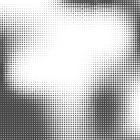 Halbton-Hintergrund Halbtonpunkte. Halbton-Tapete. Halbton-Grunge. Halbtoneffekt Einfache Vektor-Halbton-Textur.