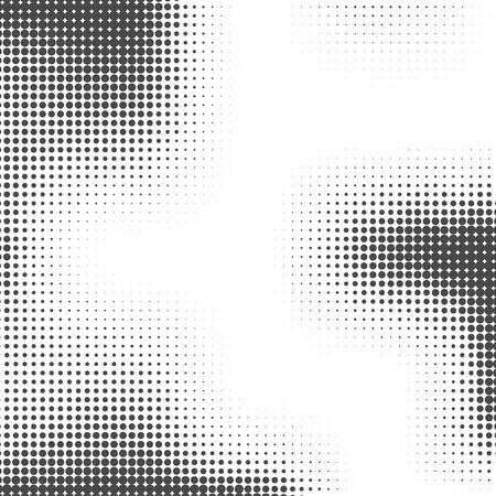 Halftone achtergrond. Halftoonpunten. Halftone behang. Halftone grunge. Halftone effect. Eenvoudige Vector Halftone Textuur.