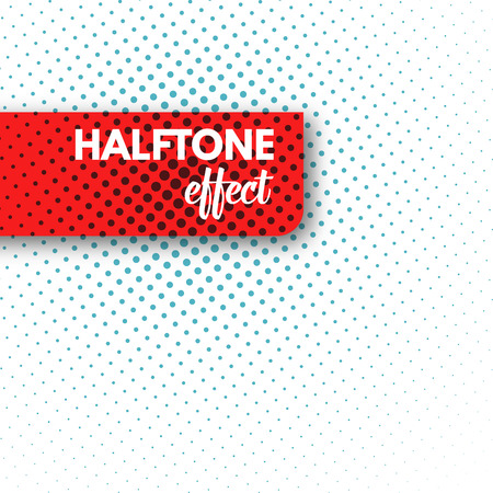 Halftone background. Halftone dots. Halftone wallpaper.  Halftone grunge. Halftone effect. Simple Vector Halftone Texture. Imagens - 47284112