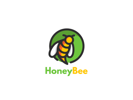 Bee icon design.