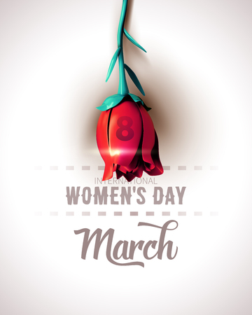 8 March. International Womens Day. Happy Mothers Day.