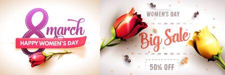8 March International Womens Day. Happy Mothers Day. Foto de archivo - 133738970
