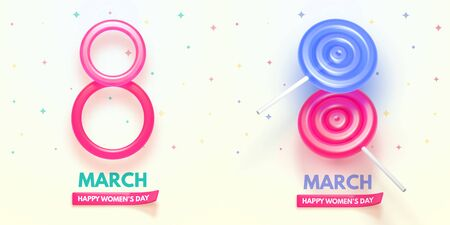 8 March International Womens Day. Happy Mothers Day.