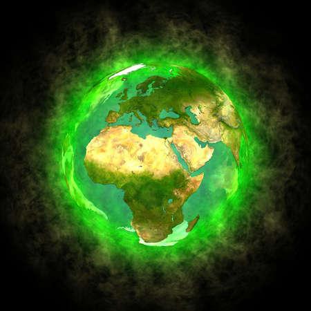 Schönheit des Planeten Erde - Europa, Afrika und Asien