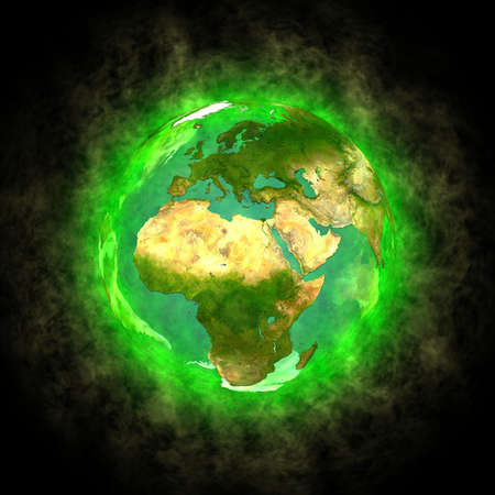 Schoonheid van de planeet Aarde - Europa Afrika en Azië