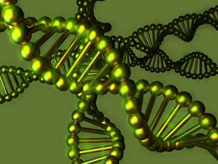 DNA - Desoxyribonukleinsäure Lizenzfreie Bilder