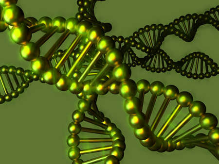 DNA - Desoxyribonukleinsäure Standard-Bild
