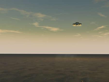 UFO - Unidentified Flying Object Stock Photo - 12295448