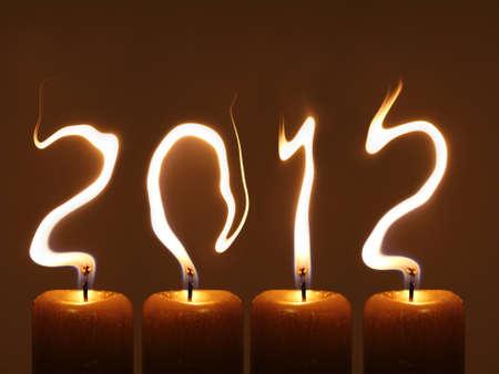 Happy new year 2012 - PF 2012 Stock Photo - 12995517