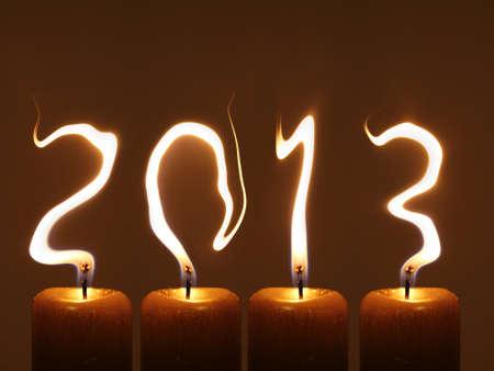 Gelukkig Nieuwjaar 2013 - PF 2013 Stockfoto - 12995512