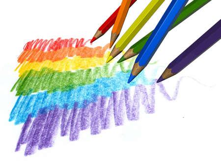 Color pencils Stock Photo - 12995536