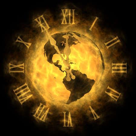 Kosmische Zeit - die globale Erwärmung und Klimawandel - Amerika