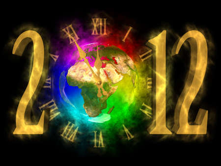 Magical year 2012 - time for change - Europe Stock Photo - 13933451