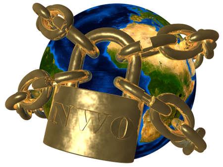 New World Order  NWO  - world in chains