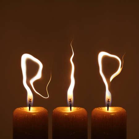 RIP - Ruhe in Frieden Standard-Bild