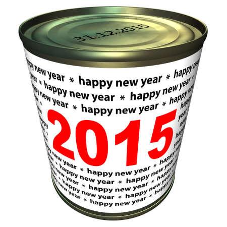 Gelukkig Nieuwjaar 2015 - kan