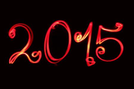 Happy new year greeting  2015