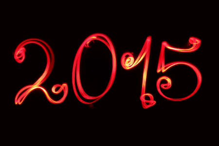 Happy new year greeting  2015