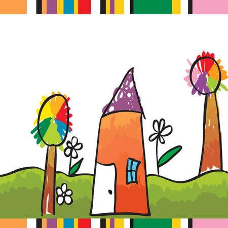 children illustration  Illustration