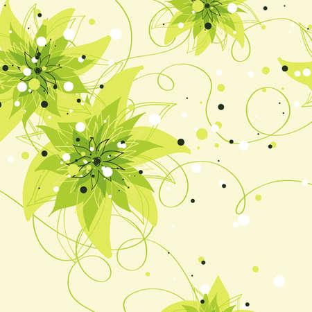 Patr�n sin fisuras vector de dise�o textil tarjeta de boda floral