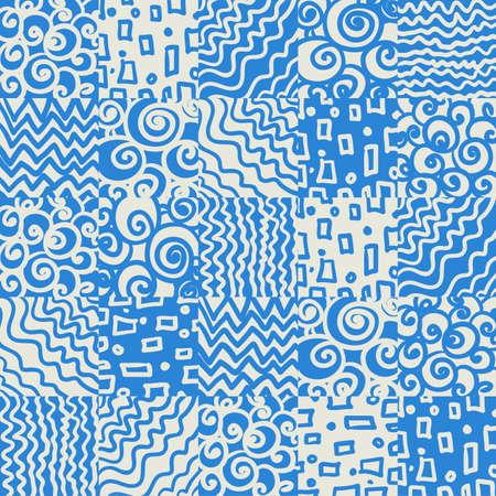 Seamless geometric background Stock Vector - 19585438