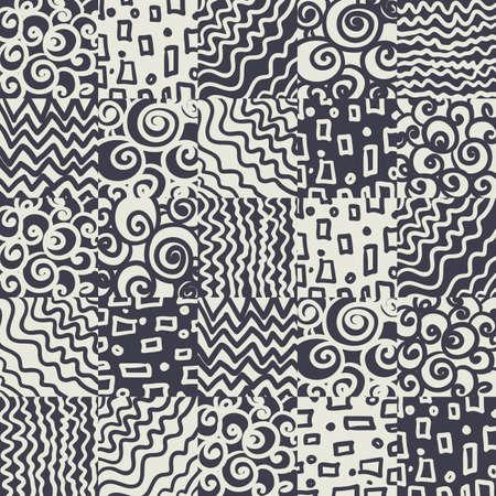rugs: Seamless geometric background Illustration