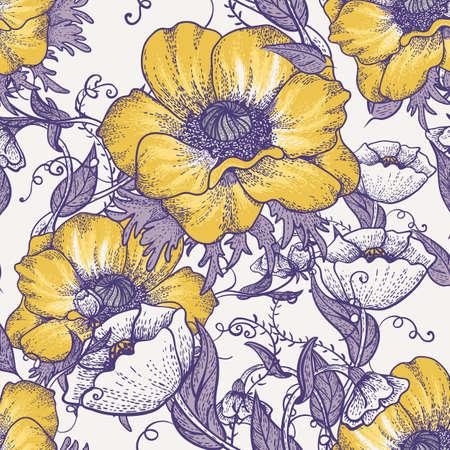 Elegance wallpaper bloemen achtergrond