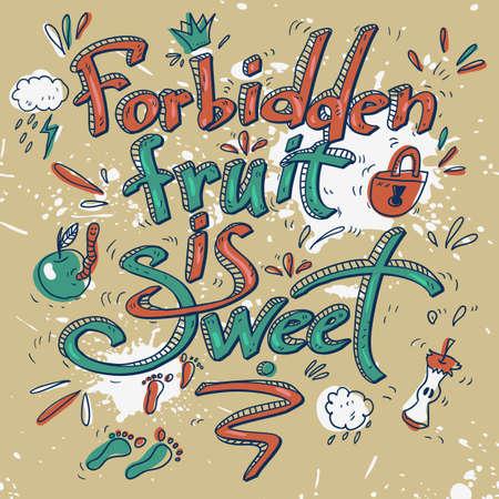 idioms: Cartoon proverb and idioms