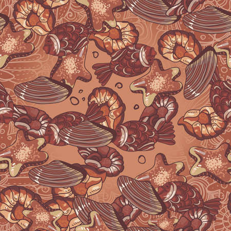 chocolate pattern Vector