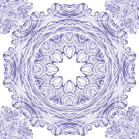 Seamless ornament pattern with circles Stock Vector - 20147903