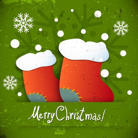 botas de navidad: New Year botas de Navidad