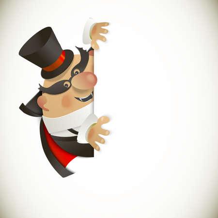 Dracula Halloween fond de conception mignonne Banque d'images - 21423484