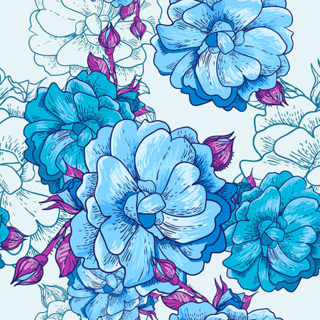 Beautiful Seamless Floral Background