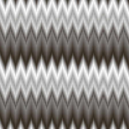 diagonal stripes: Seamless zigzags geometric pattern